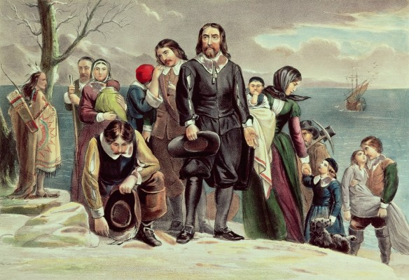 The Landing of the Pilgrims at Plymouth, Mass. Dec. 22nd 1620