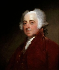 John Adams,ca. 1821 by Gilbert Stuart. National Gallery of Art.
