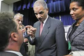 U.S. Attorney General Eric Holder,  a paid servant of the people.