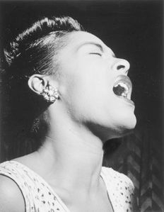Billie Holiday, 1947 by William Gottlieb.