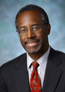 Ben Carson, likely Republican contender for President in 2016