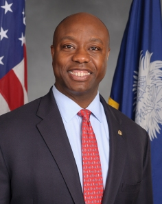 Tim Scott Republican Senator from So. Carolina