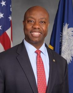 Tim Scott Republican Senator from So. Carolina