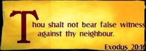 ten-commandments false witness