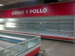 empty shelves venezuela