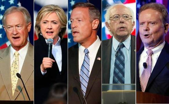 Democrat candidates 2016 diversity