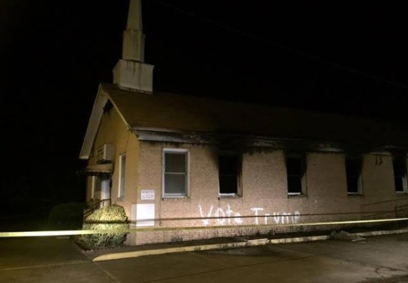 hopewell-baptist-church-burned