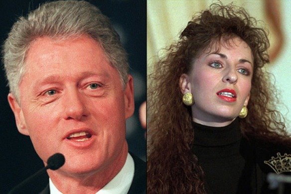 Clinton paula jones